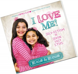 I love me book by sisters Elisha and Elyssa