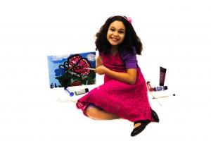 Elyssa - WhollyART teaching positive values through art