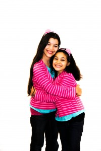 Elyssa and Elisha - WhollyART teaching positive values through art -