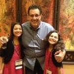Tom Antion, Elisha, and Elyssa