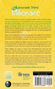 The Lemonade Stand Millionaire book By Gail Haynes