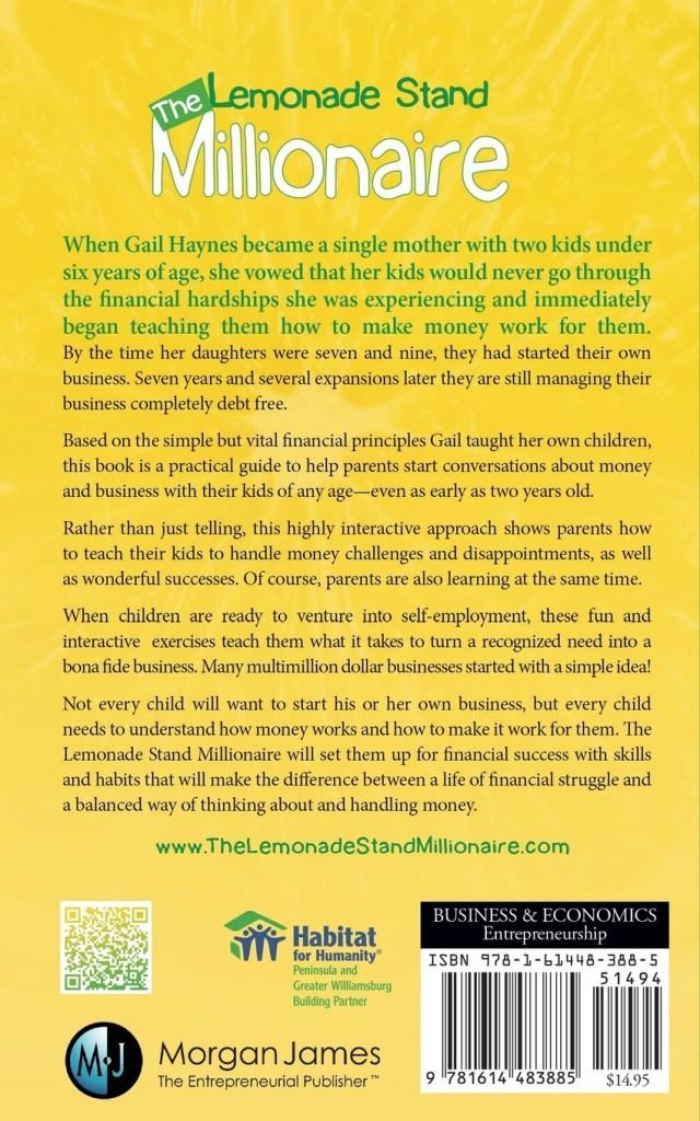 lemonade stand financial summary