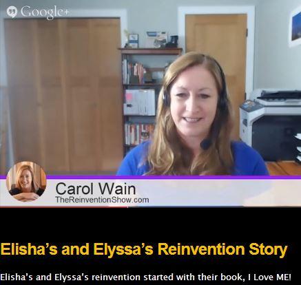 Carol Wain Interviewing Elisha and Elyssa