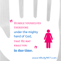 3 Important Truths to Be a More Humble Person - WhollyART