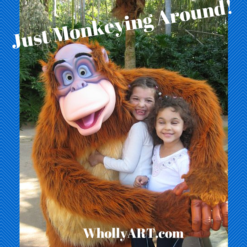 Just Monkeying Around!