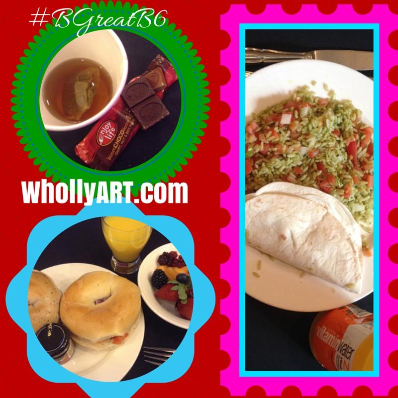 I love Blogalicious ~ Elyssa at Whollyart