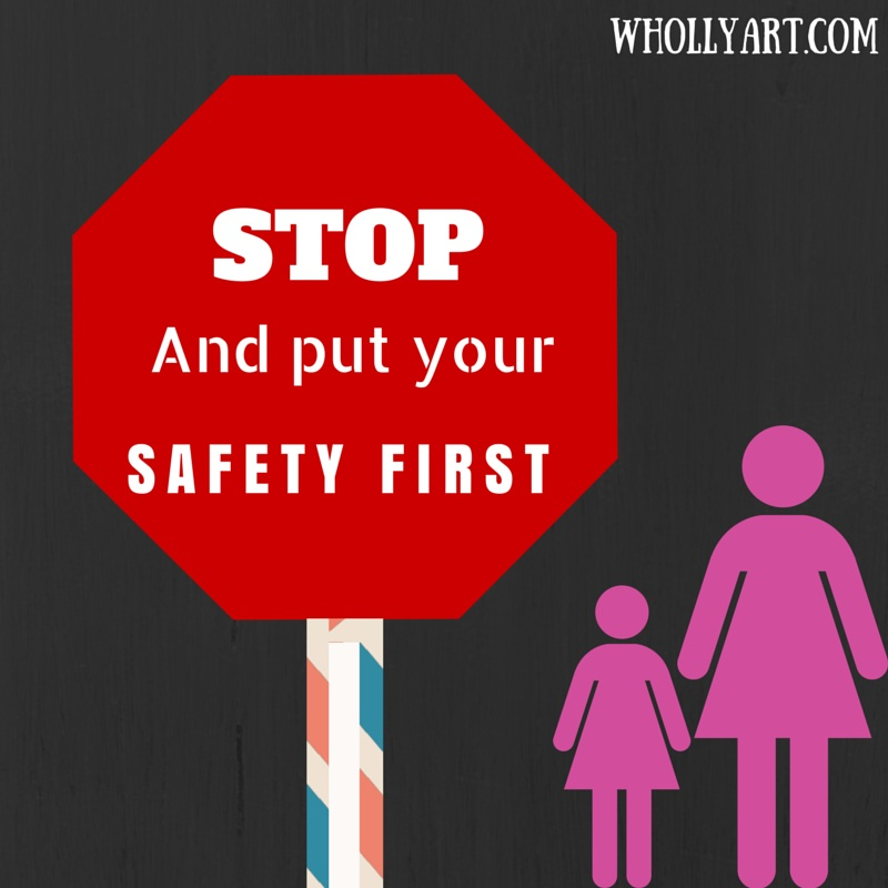 3 types of safety kids need to know about ~ Elyssa at Whollyart