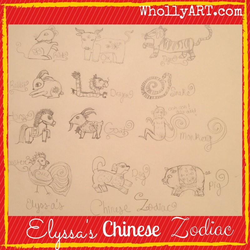 Elyssa's Chinese Zodiac Whollyart