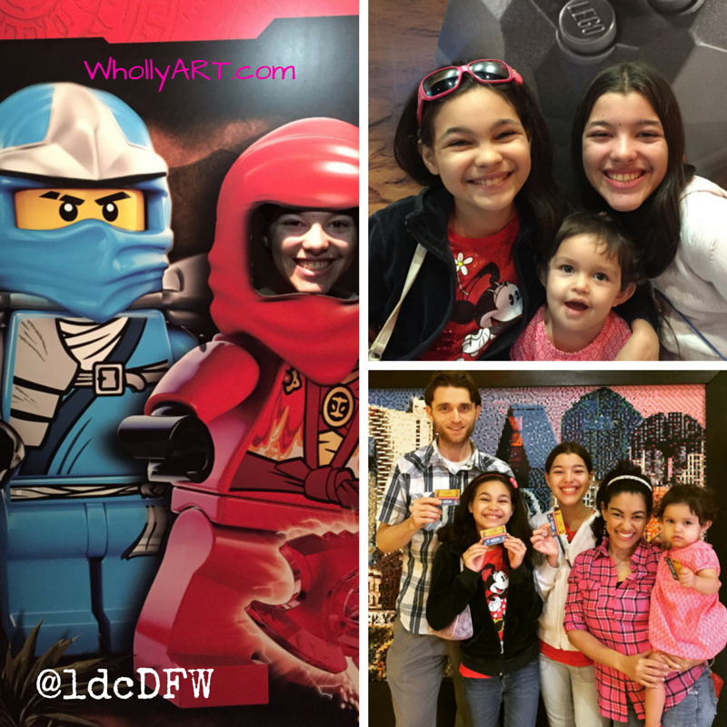 The Importance of Family Time - Our Fin LEGOland Discovery Center trip - WhollyART