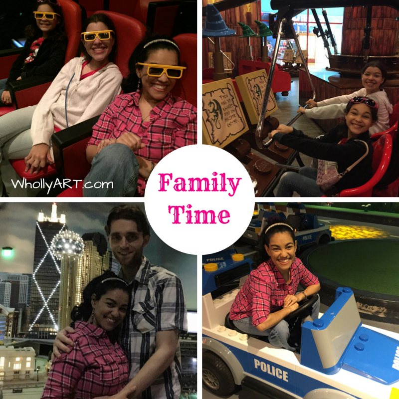 Fun and Valuable Family Time at LEGOLand Discovery Center - WhollyART