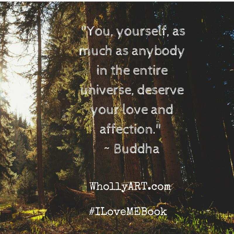 How to Love yourself for who you are in 3 Powerful Steps Buddha self-love quote