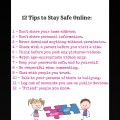 12 Tips to Stay Safe Online - Internet Safety for Kids - Internet Safety for Teens - WhollyART