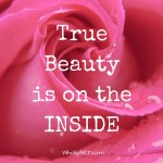 True beauty is on the inside - WhollyART - The Truth about Perfect Bodies