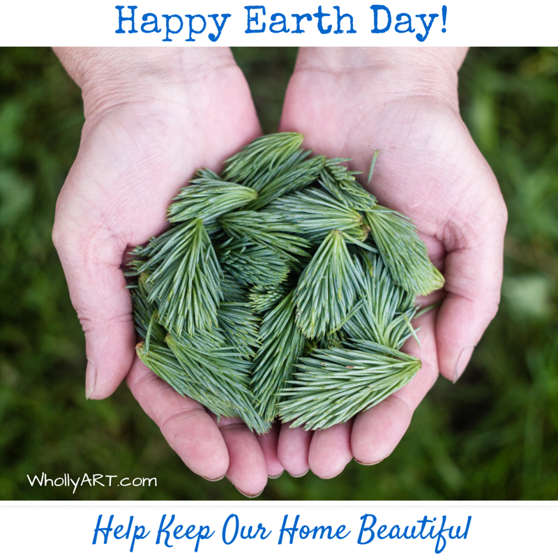 Happy Earth Day! You can Help Keep Our Home Beautiful