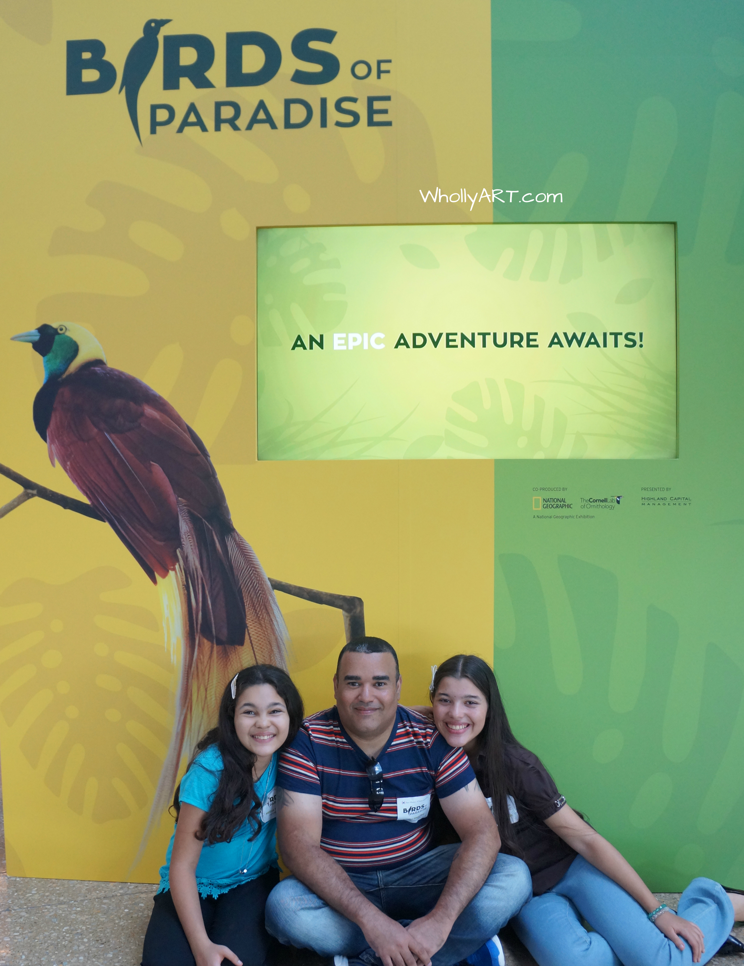 Birds of Paradise at the Perot Museum of Nature and Science - Epic adventure awaits you!