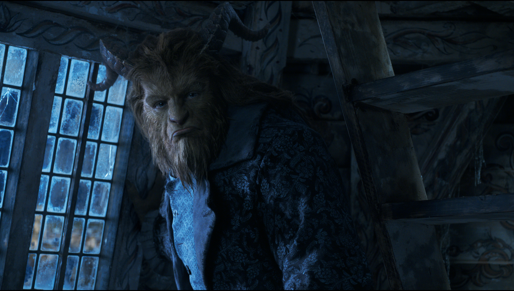 Dan Stevens as The Beast In Beauty and The Beast