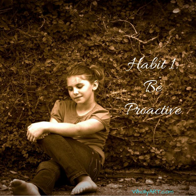 Habit 1 of Self-Confident Teens Series - Be Proactive