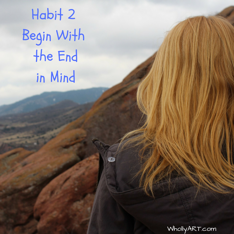 Habit 2 - Begin With The End In Mind