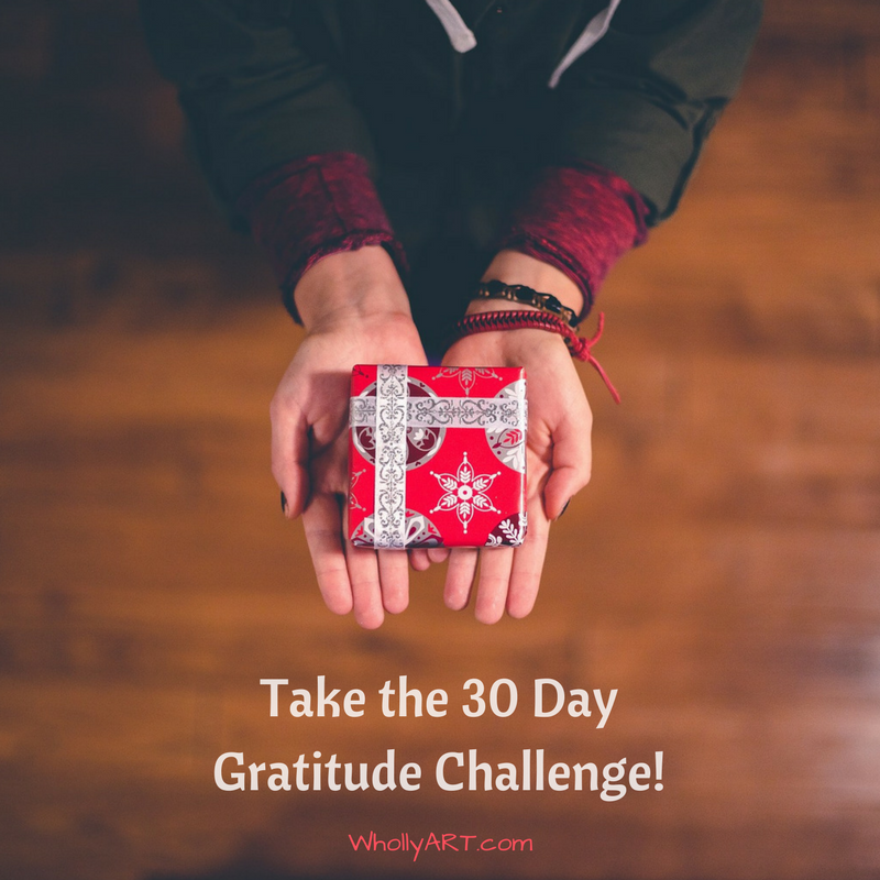 Take the 30 Day Gratitude Challenge!
