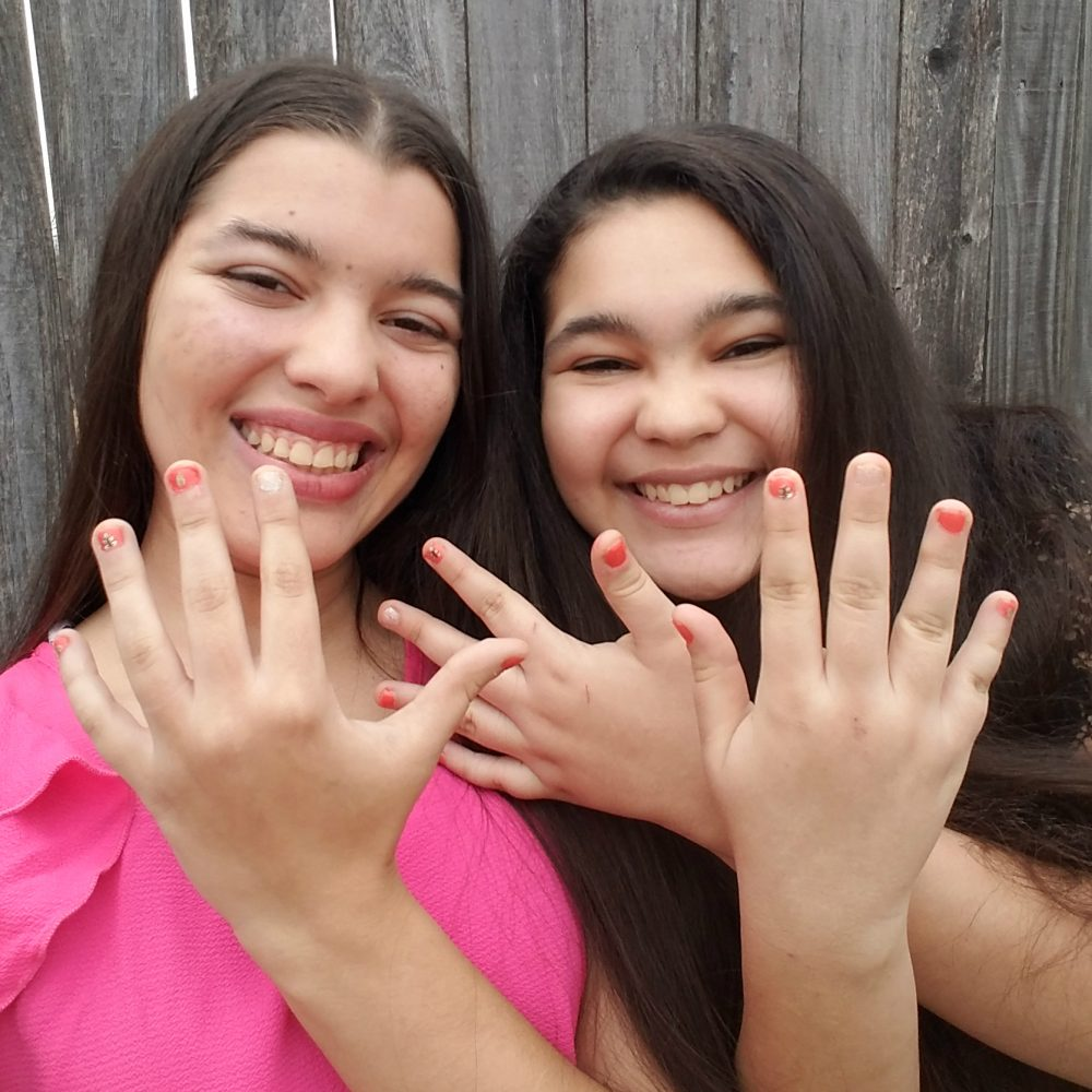 Zoey Koko Manicure - Celebrating Girl power and Self-Love this Valentine's Day