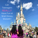 Can teenagers really have fun at Walt Disney World?