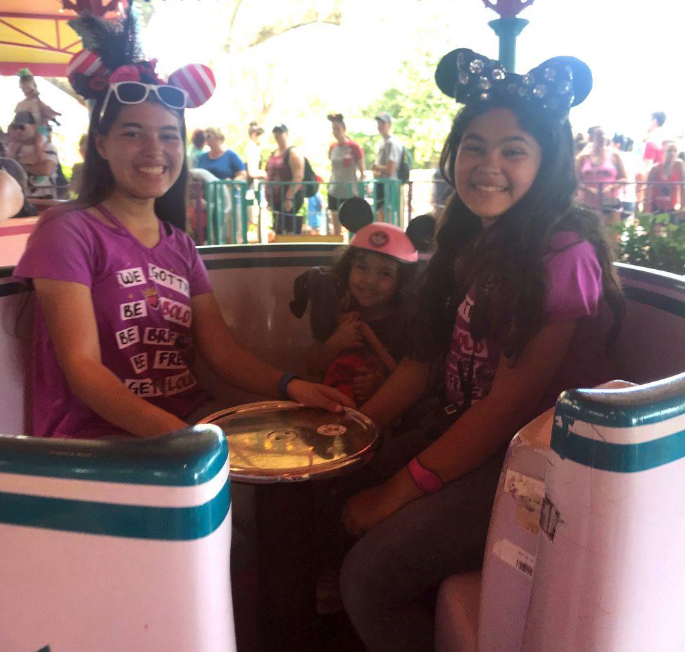 Teacups Mad Tea Party Walt Disney World