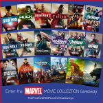 Marvel Movie Collection Giveaway