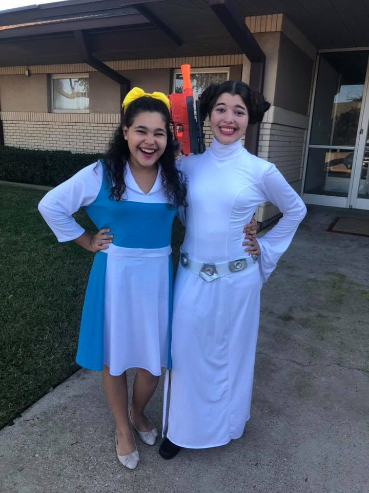 Princess Leia Star Wars Costume, Princess Belle Costume, Playing Dress Up
