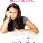Avoid these 5 mistakes when you teach teens