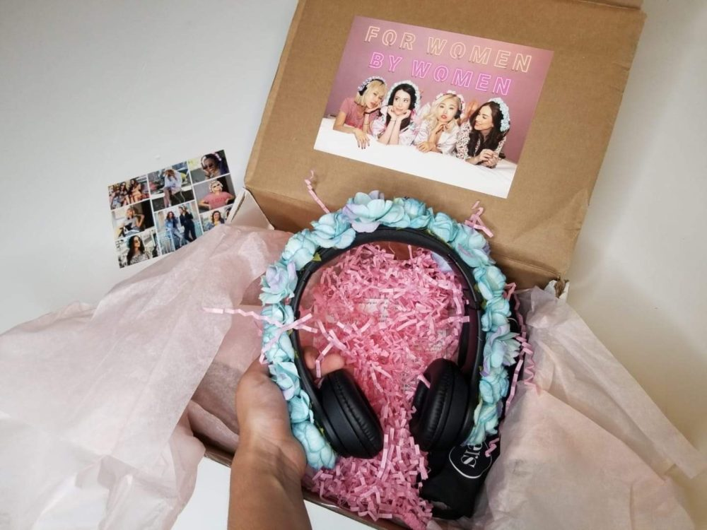Rosé Rockers headphones for women giveaway