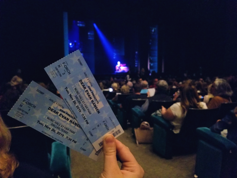 Tickets for Dear Evan Hansen DFW Dallas Summer Musicals