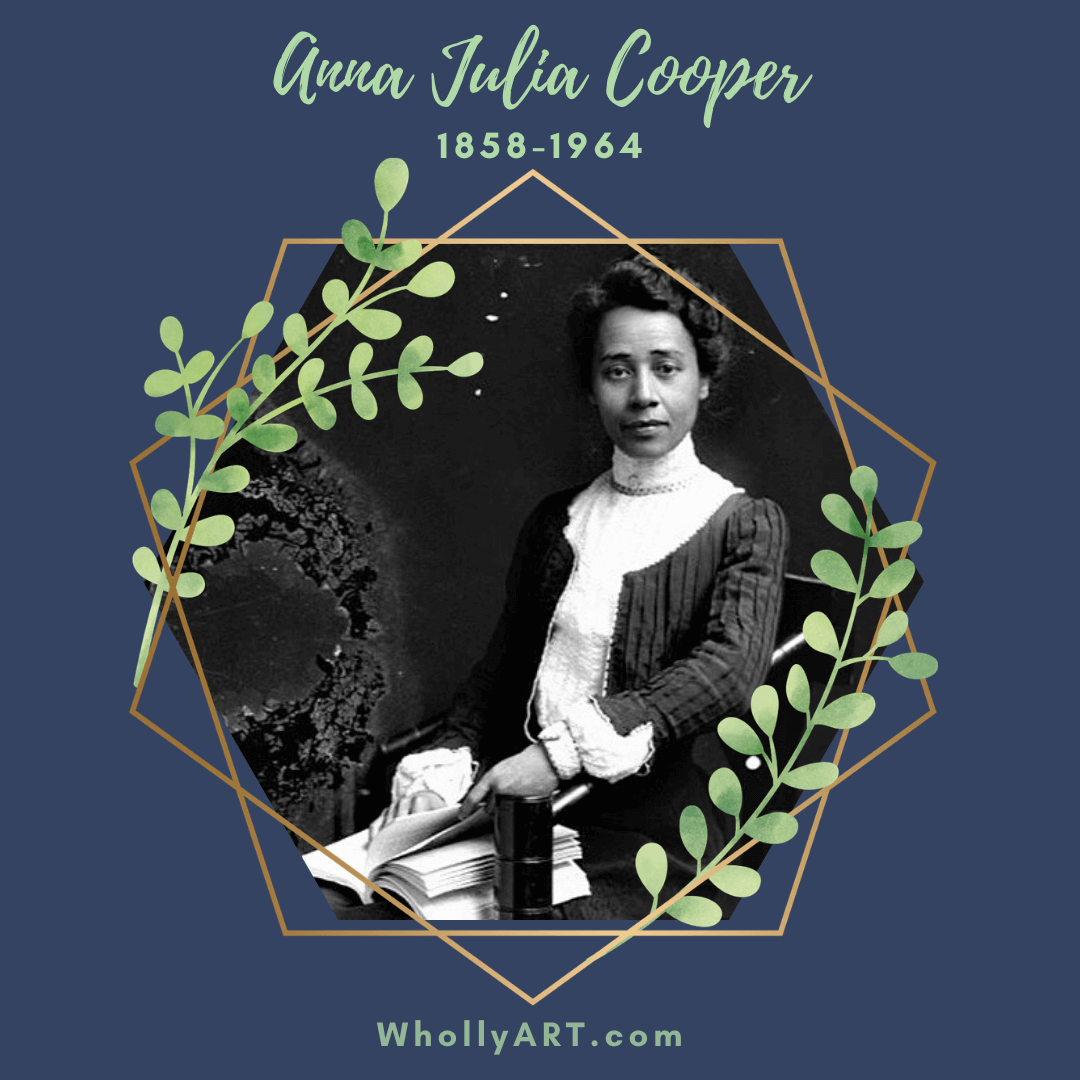 Black women in history, suffragists, powerful black women, Anna Julia Cooper, black women who won the right to vote, civil rights, human rights, black lives matter