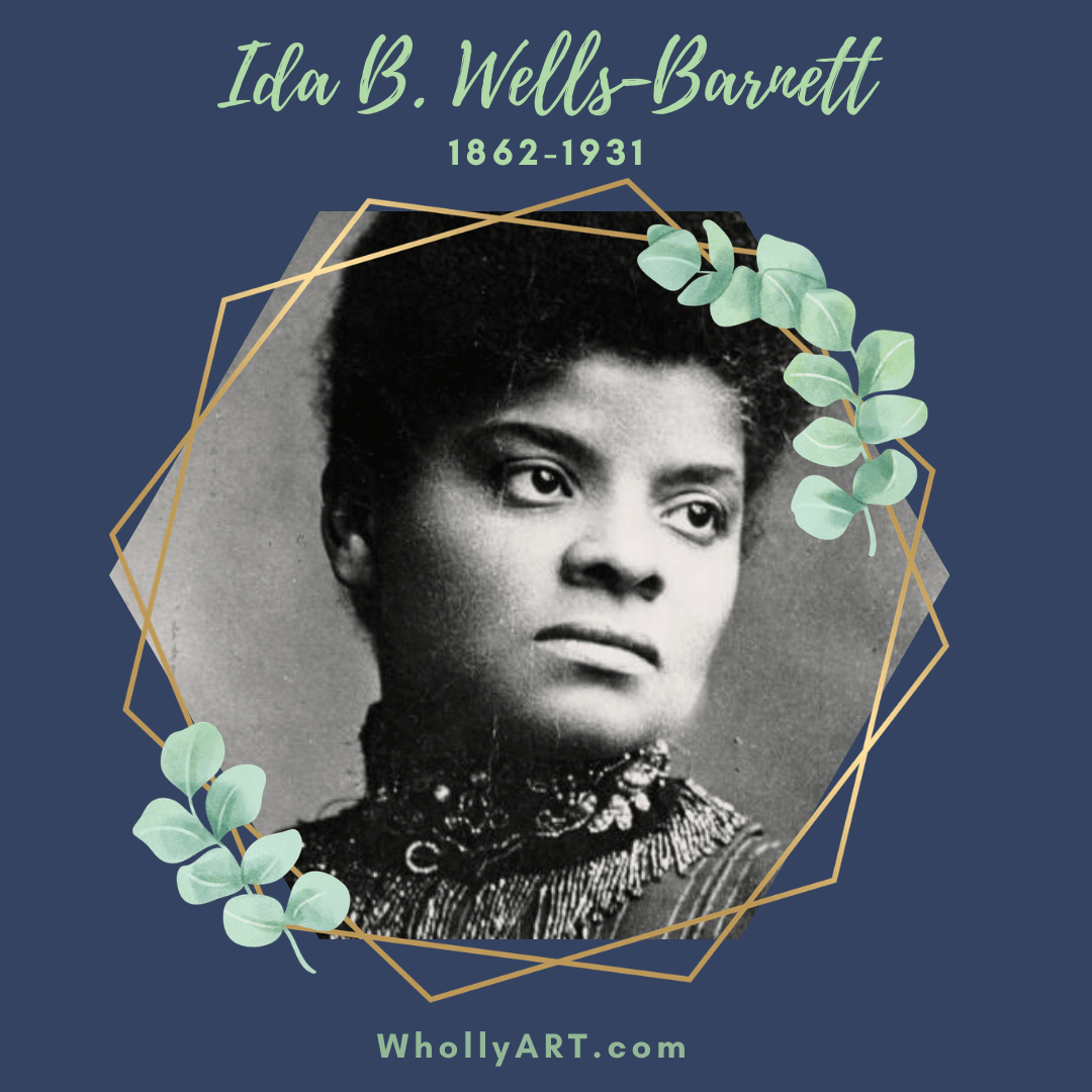 Black women in history, suffragists, powerful black women, Ida B. Wells-Barnett, black women who won the right to vote, civil rights, human rights, black lives matter
