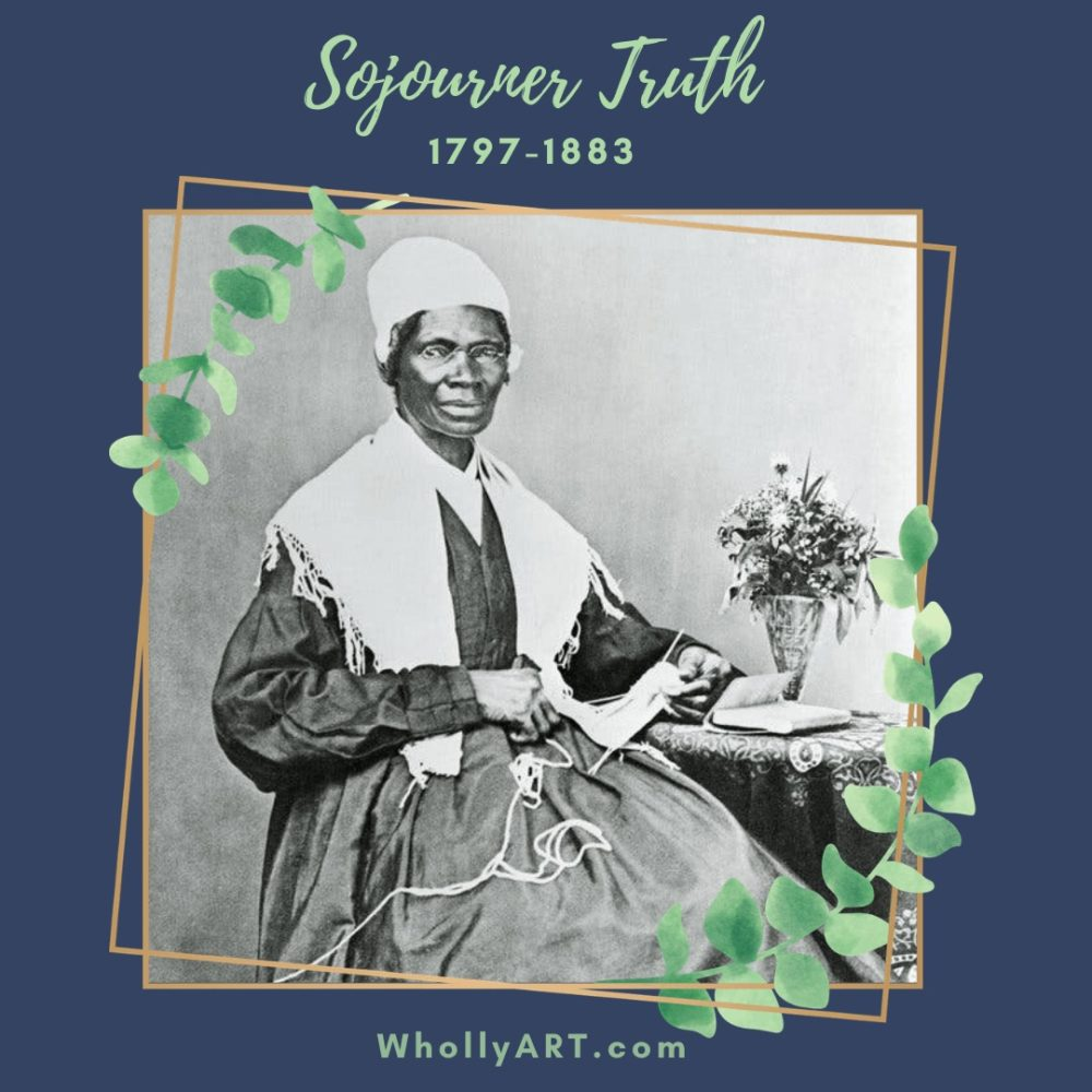 Black women in history, suffragists, powerful black women, Sojourner Truth, black women who won the right to vote, civil rights, human rights, black lives matter